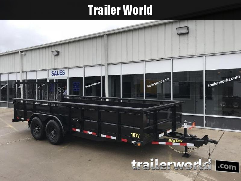2019 Big Tex Trailers 10TV-18' Utility Trailer 10k GVWR