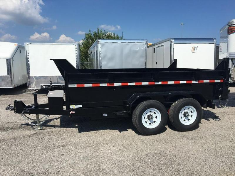 2017 Sure-Trac 7 x 12 Dump Trailer w Ramps 12k GVWR