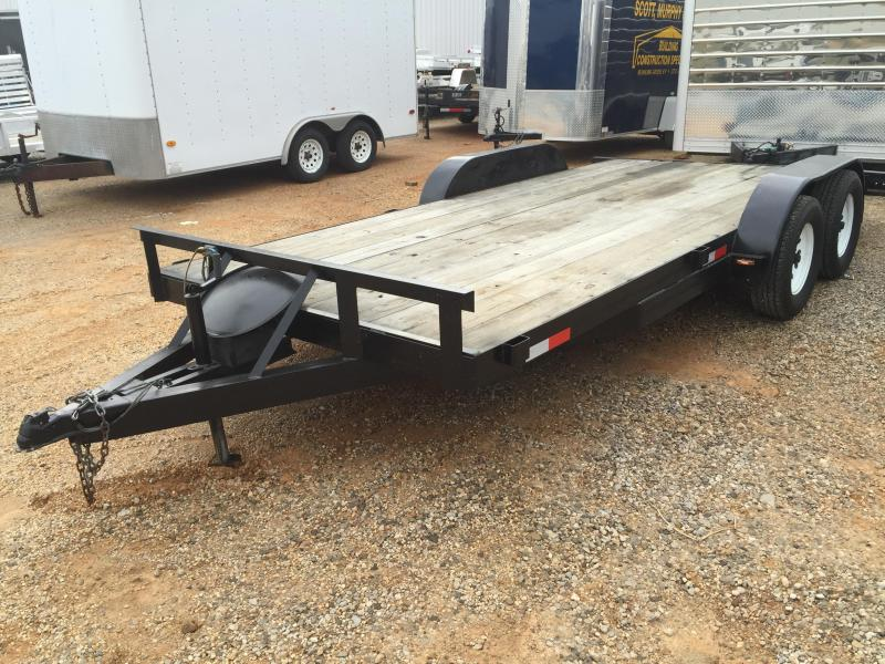 2007 Mid-America Trailer Manufacturing 16' Flatbed Open Trailer