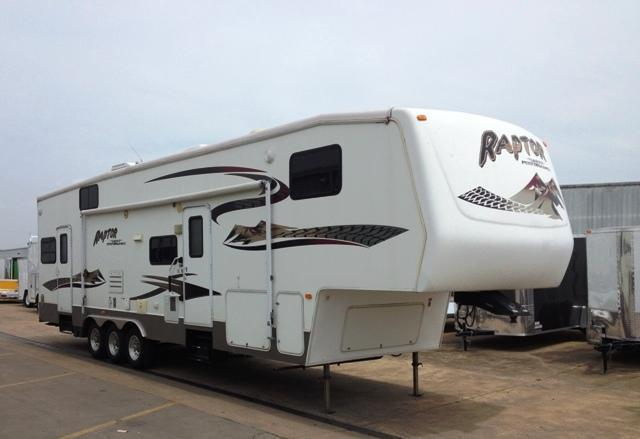 2007 Keystone RV 36' Raptor Toy Hauler Trailer