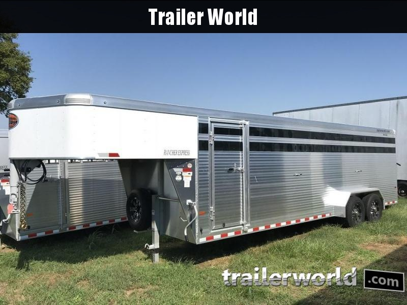2019 Sundowner Trailers Rancher Express 24' Livestock Trailer