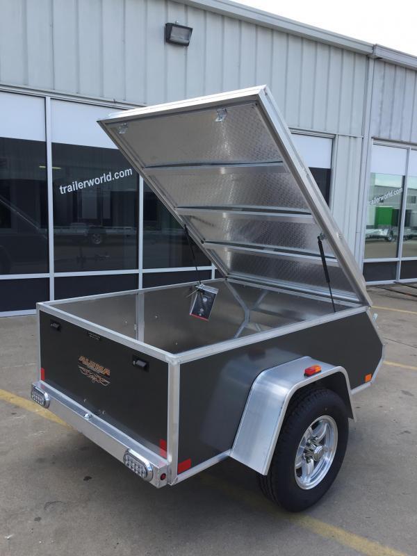 2016 Aluma AE46 4' x 6' Aluminum Enclosed Utility Trailer