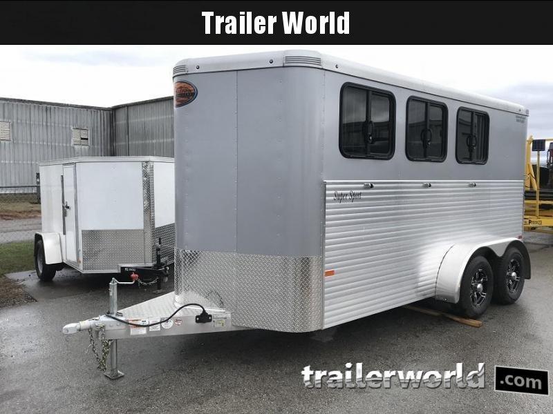2018 Sundowner Super Sport 3 Horse Trailer Bumper Pull