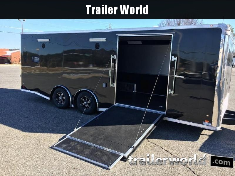 2018 CW 24' Spread Axle Race Trailer w Side Ramp Door