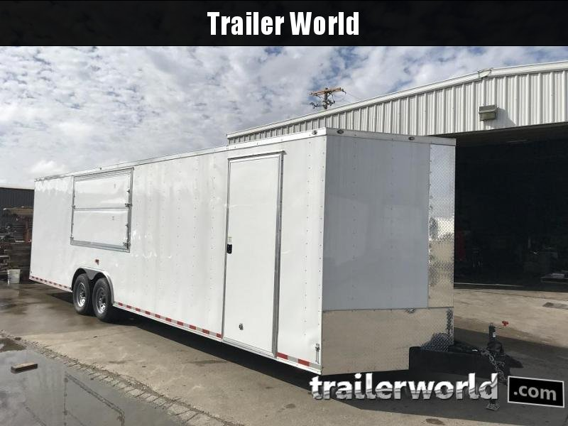 2018 Diamond Cargo 30 Vnose Vendor / Concession Trailer