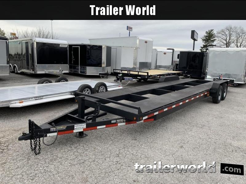 2014 B-B 32' 2 Car Bumper Pull Trailer