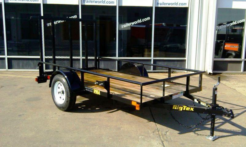 2014 Big Tex Trailers 29SA-10' x 5' Utility Trailer