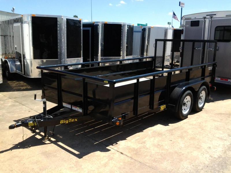 2014 Big Tex Trailers 70TV-14' Utility Trailer