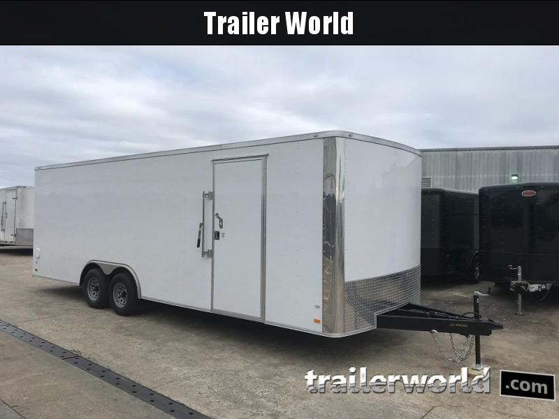 2019 CW 24' Enclosed Car Trailer 7' Tall 10k GVWR