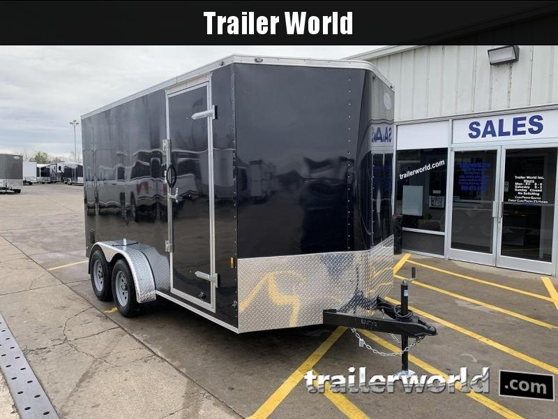 "2020 Continental Cargo 7' x 14' x 6'10"" Vnose Enclosed Cargo Trailer"