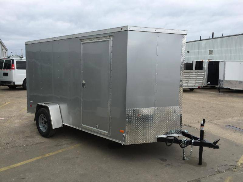 2016 Haulmark Thirfty 6' x 12' V Enclosed Cargo Trailer