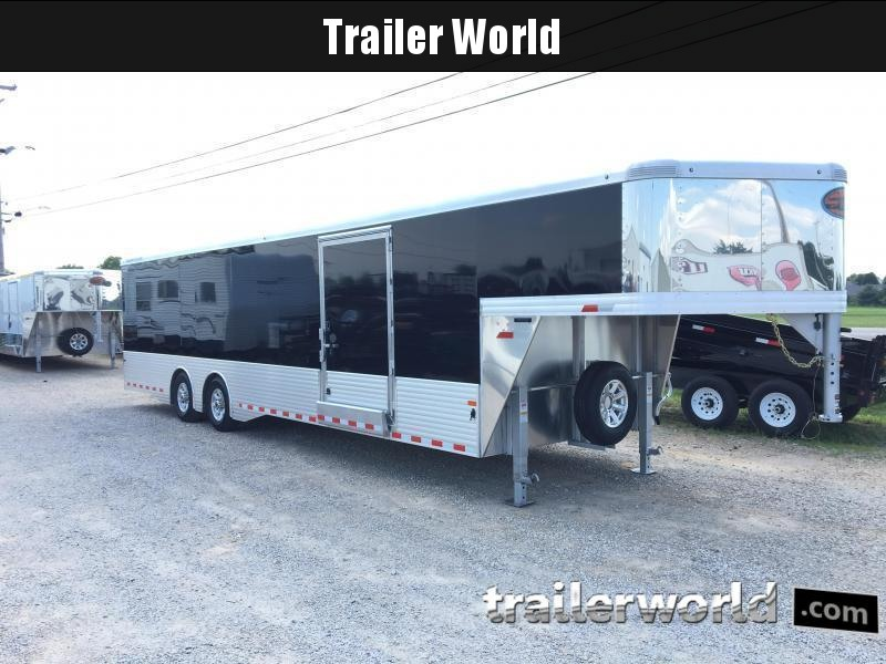 2018 Sundowner 38' Aluminum Gooseneck Enclosed Car Trailer