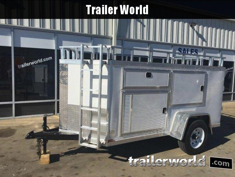 2017 Lark 5 x 10 Contractor Enclosed Cargo Trailer