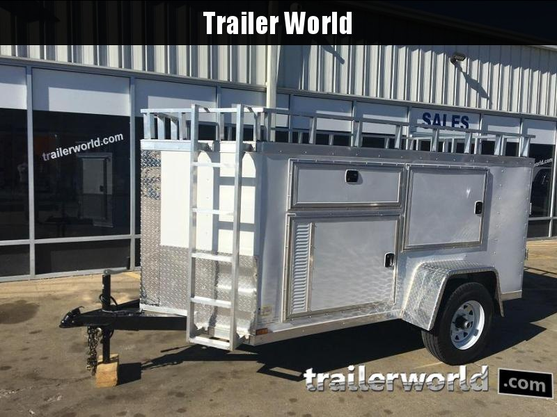 2017 Lark 5 x 10 Contractor Enclosed Cargo Trailer