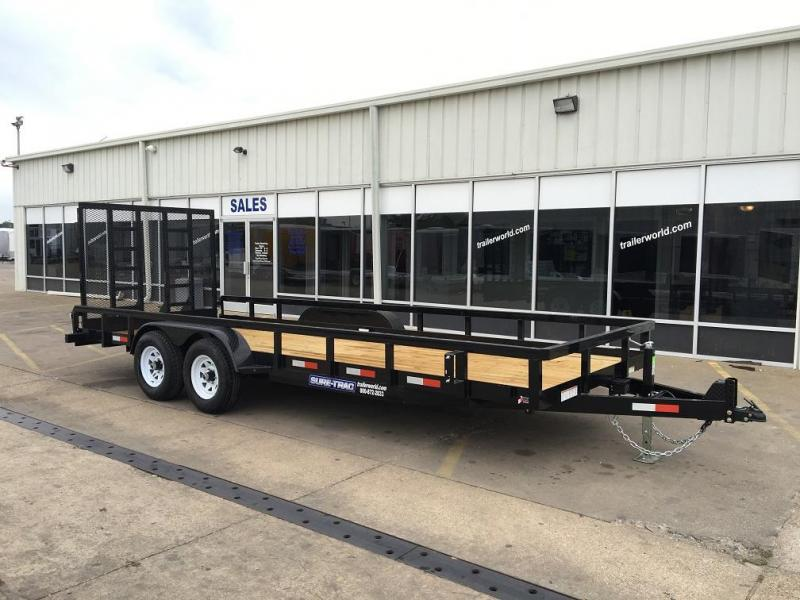 2019 Sure-Trac 20' Tube Top Utility Trailer 10K Tandem