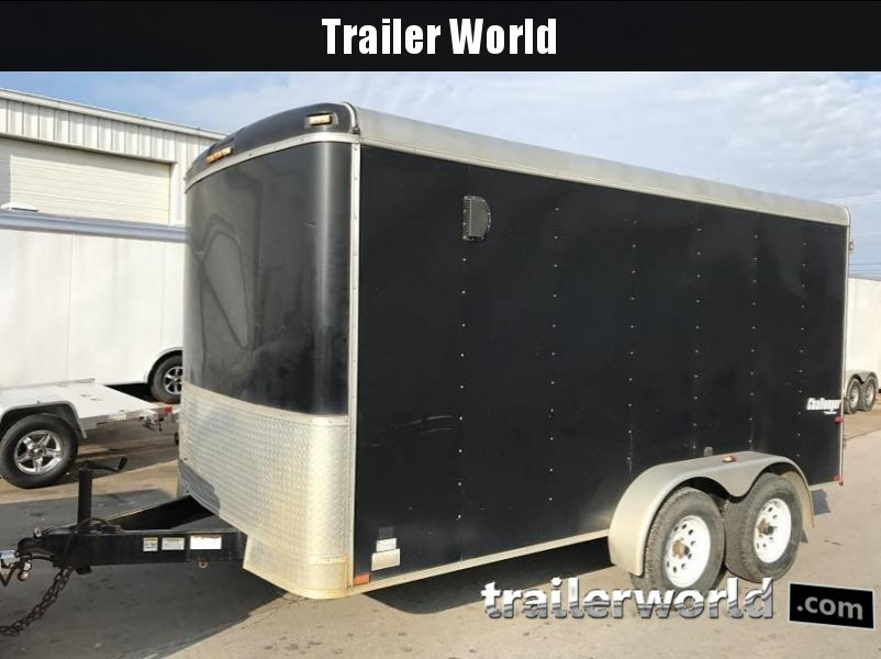 2009 Homesteader 7' x 14' Double Door Enclosed Cargo Trailer
