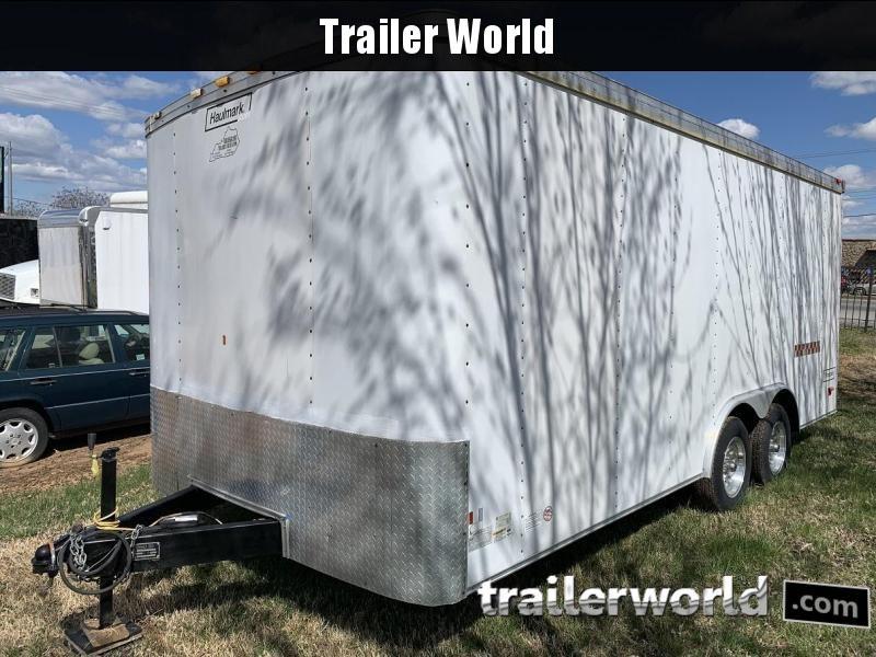 2007 Haulmark 18' Enclosed Car Trailer Insulated w/ AC
