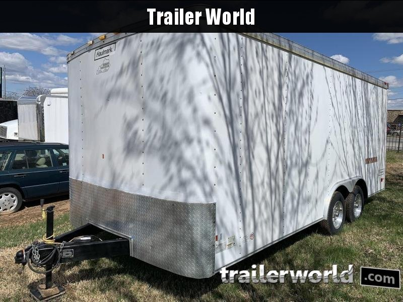 2007 Haulmark 18' Enclosed Car Trailer Insulated w/ AC