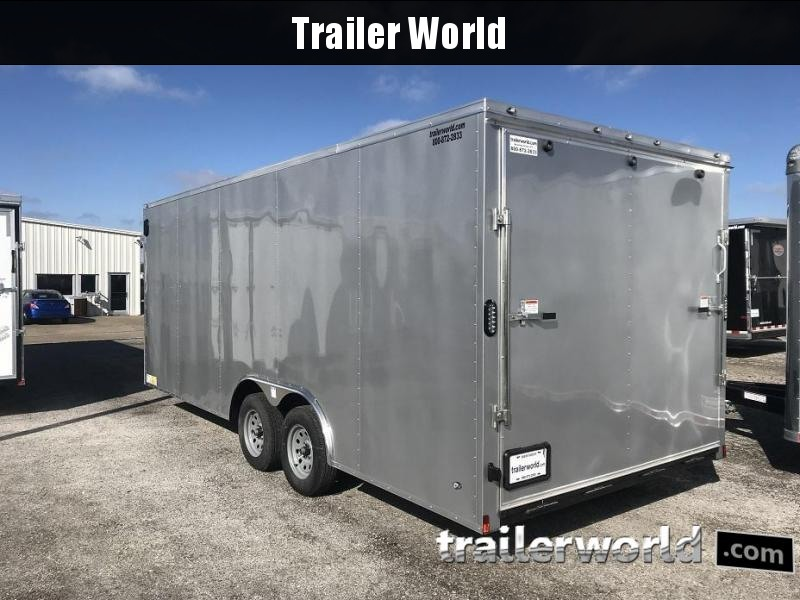2019 Forest River 8.50x20TA2  20' V nose Enclosed Car Trailer