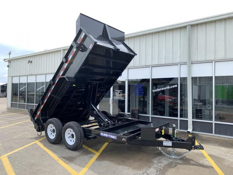 2019 Sure-Trac 82 IN X 12 LProfile Scissor Dump 12K