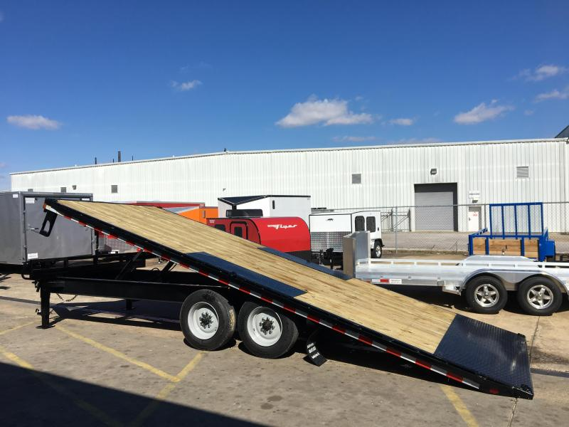 2017 Sure-Trac 22' Deck Over Tiltbed Equipment Trailer 17.5k GVWR