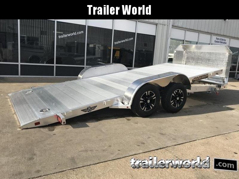 2020 Aluma 8218 Tilt Bed Open Car Hauler Trailer Anniversary Edition