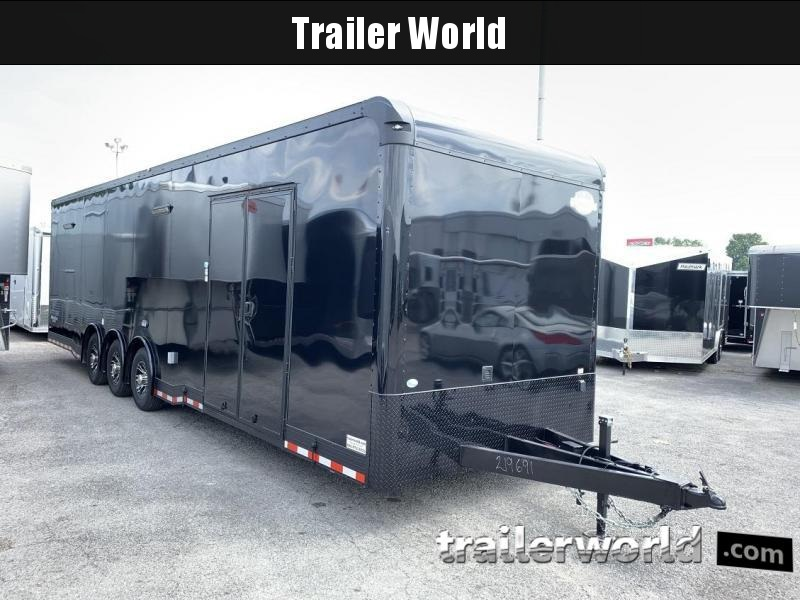 2020 Cargo Mate 32' Eliminator Black-Out Race Trailer