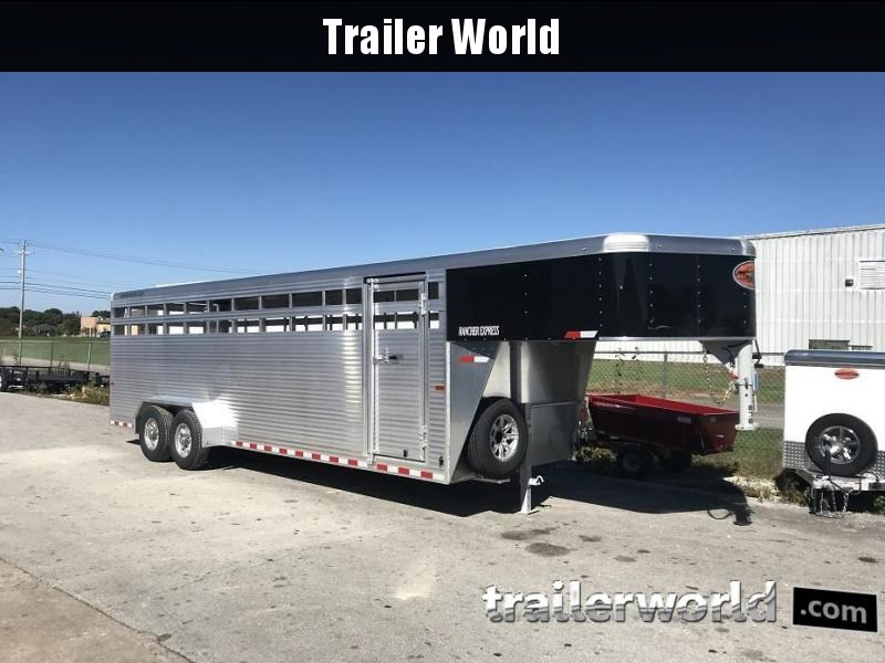 2019 Sundowner Rancher Xpress 24' Livestock Trailer