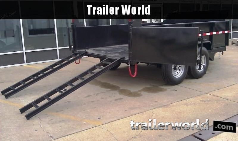 2019 QS 12' Dump Trailer 12K GVWR