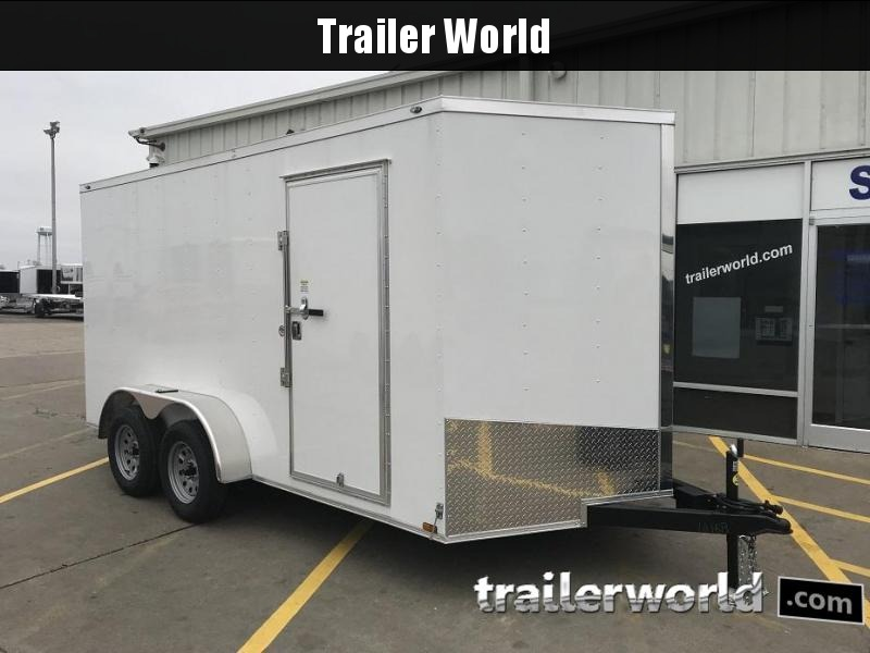 2019  7' x 14' x 6.6' Vnose Enclosed Cargo Trailer