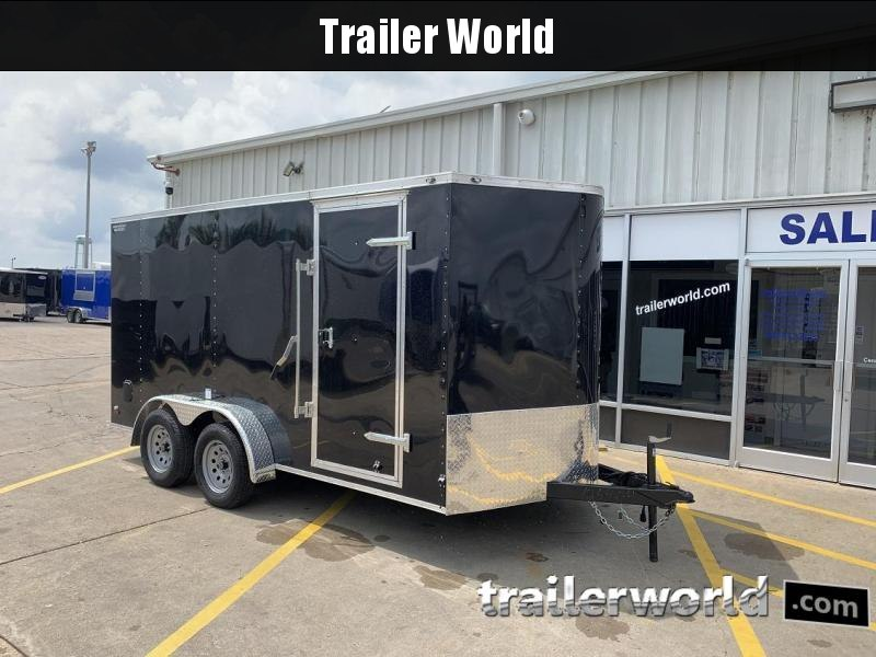"2020 Continental Cargo 7' x 14' x 6'3"" Vnose Enclosed Cargo Trailer"