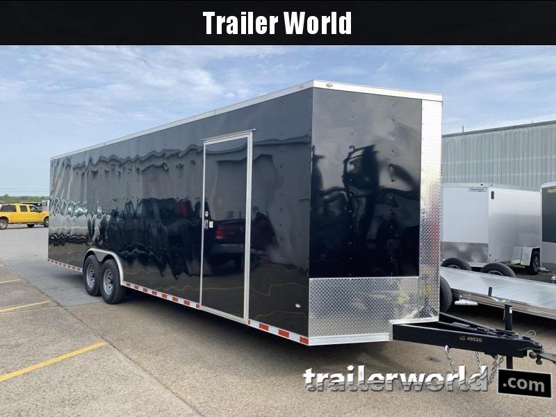 2019 CW 28'  Vnose Enclosed Car Trailer 7.5' Tall 14k GVWR