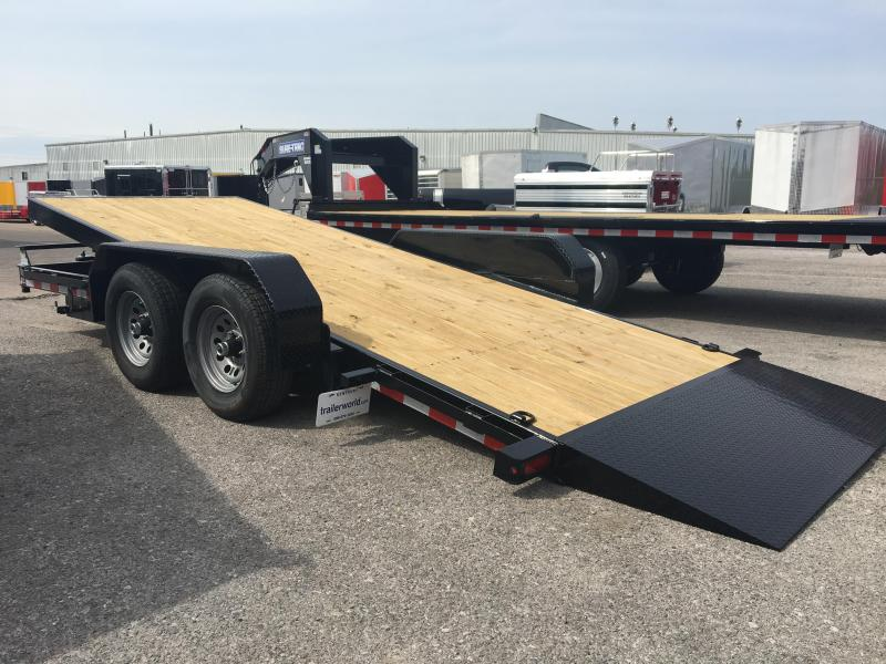 2017 Sure-Trac 18' Tilt Bed 10k GVWR Equipment Trailers