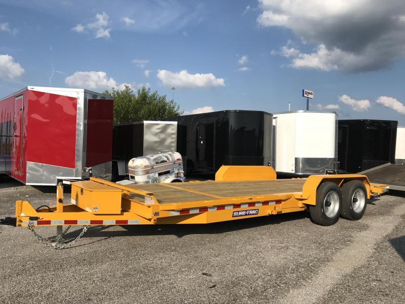 2018 Sure-Trac 16 + 4 Tilt Bed Equipment 17.5 Tires