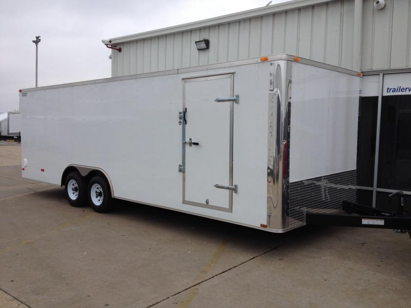 2014 Lark 24' Enclosed Car Trailer 10k GVWR