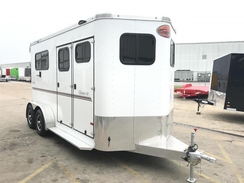 2018 Sundowner Charter TR SE 2 Horse Bumper Pull Trailer