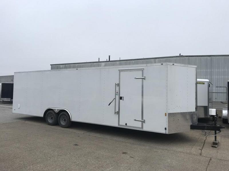 2019 Continental Cargo 28' V  Enclosed Car Trailer