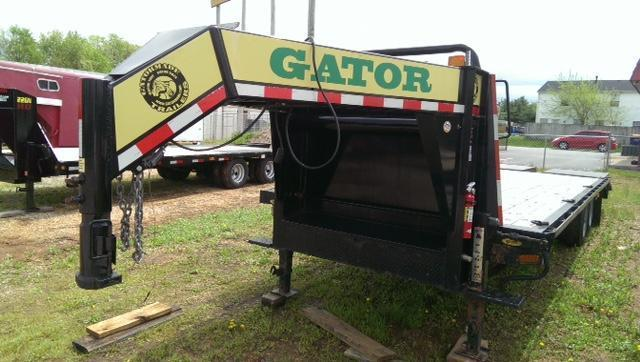 2012 Gatormade Trailers 20GN 8 Ton Equipment Trailers