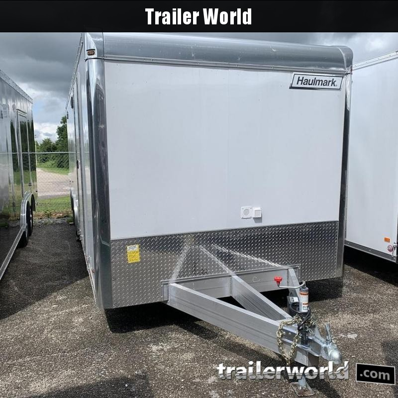 2019 Haulmark EDGE Aluminum 28 Car / Racing Trailer