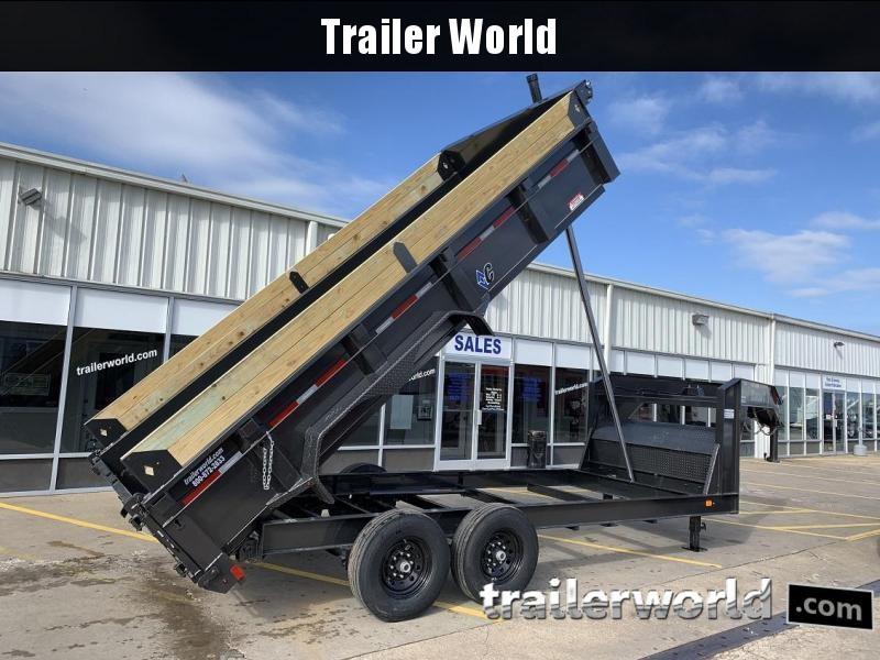 2019 Diamond C LPT 16' Gooseneck Dump Trailer Low Profile Commercial Grade