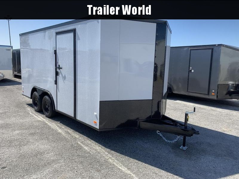 2019 CW 8.5' x 16' x 7' Tall Vnose Enclosed Cargo Trailer