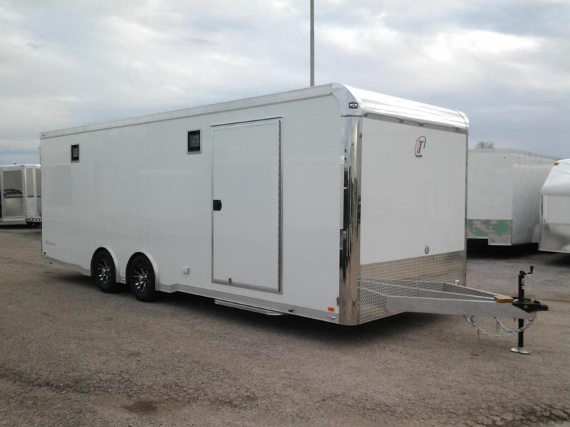 2015 inTech 24' iCon Aluminum Frame Race Trailer