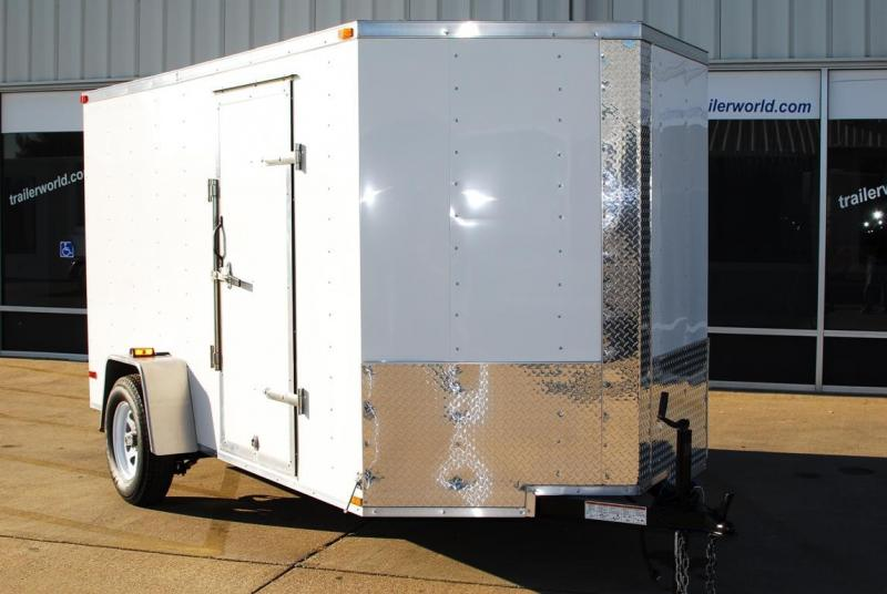 2014 Lark 6' x 12' Cargo / Enclosed Trailer