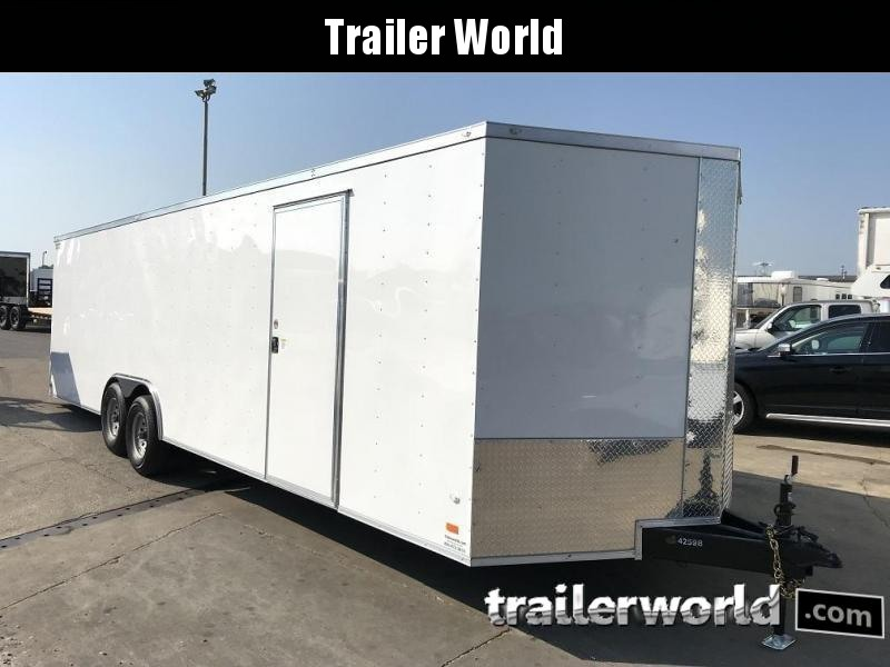 2018 CW 28' Enclosed Car Trailer