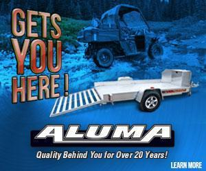 2015 Aluma 6' x 12' Aluminum Utility Trailer