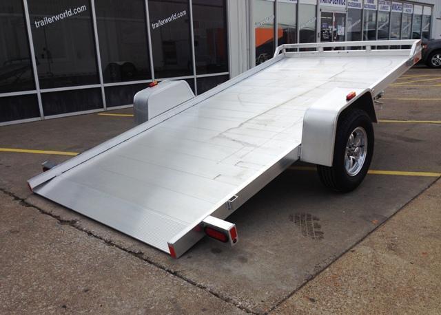 2016 Aluma 6812H 12' Tilt Aluminum Utility Trailer