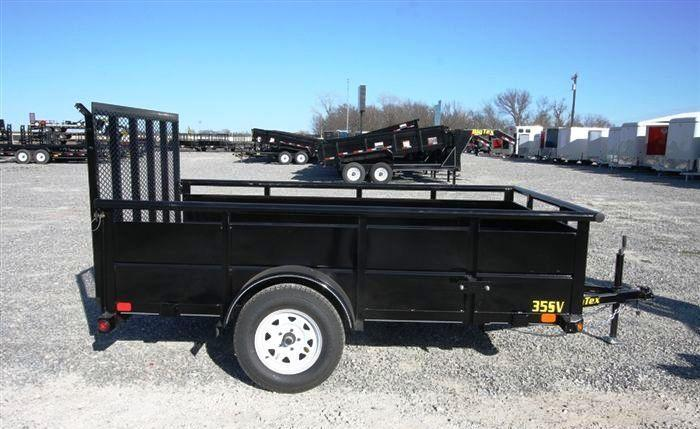 2014 Big Tex Trailers 35SV 12' x 6.5' Utility Trailer