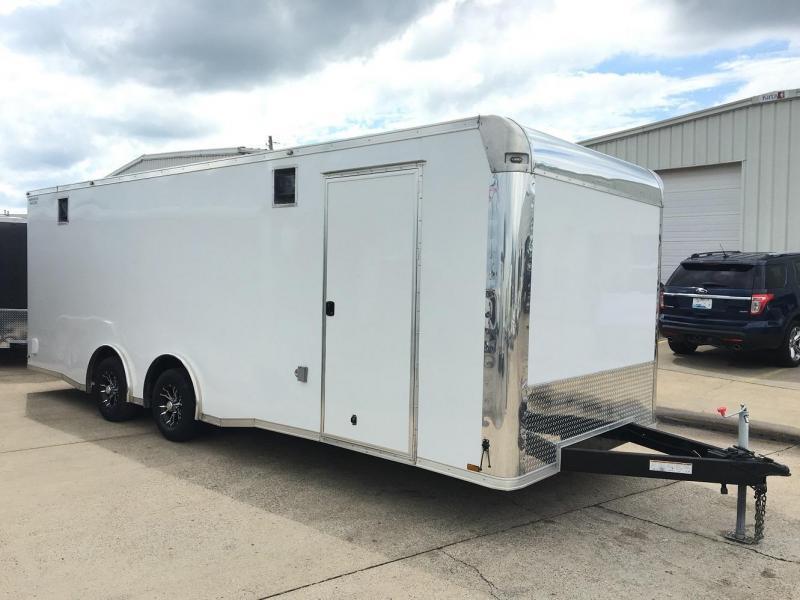 2015 Lark 24' Enclosed Car Race Trailer