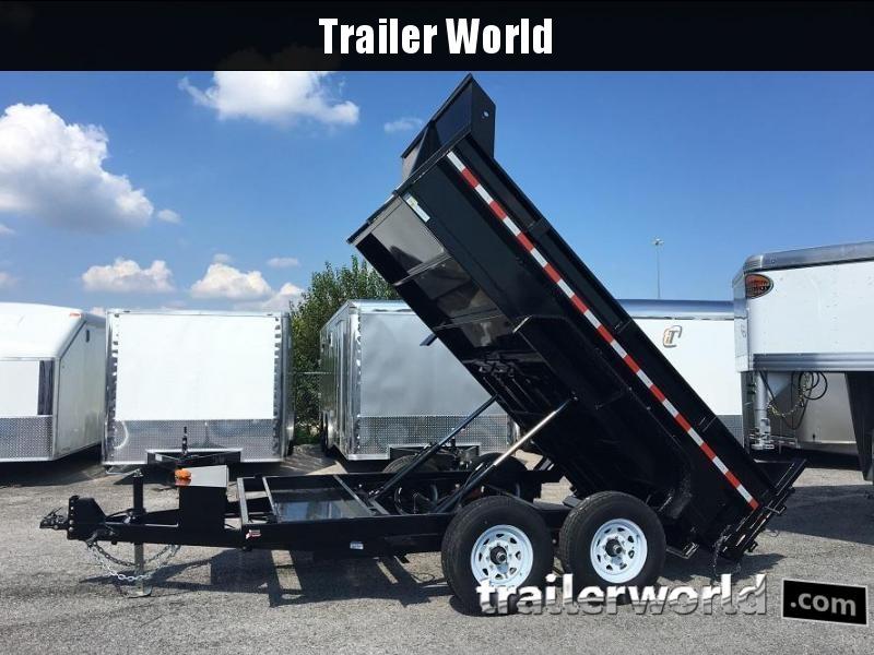 2018 Sure-Trac 82 IN X 12 LProfile 12K Dual Ram Dump
