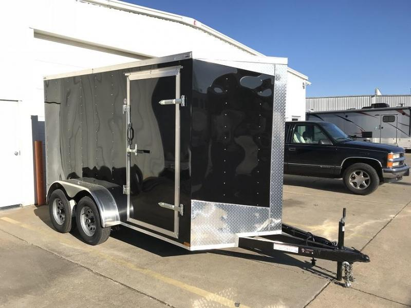 2018 Lark 6' x 12' x 6.5' Tandem axle Enclosed Cargo Trailer